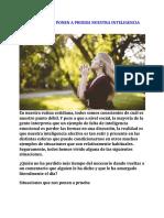 SITUACIONES QUE PONEN A PRUEBA NUESTRA INTELIGENCIA AFECTIVA.doc