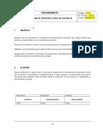 Ejemplo Procedimiento Competencia, Formación y Toma de Conciencia