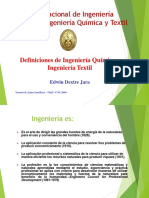 Definicion de Ing. Quimica Jaime