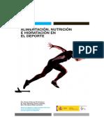 CSD-Nutrición Alimentación e Hidratación Deporte