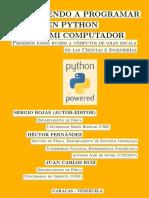 AprenderPythonEnMiComputador CC by-SA 3.0