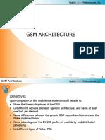 3 GSM Architecture