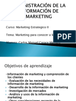 Diapositivas de Marketing