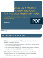 MSCI Argentina Index