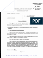 Andrew J. Spieles Plea Agreement