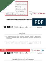 Observatorio de Salarios de la Universidad Iberoamericana Puebla presentó su informe 2017,