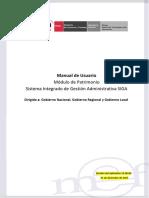 Manual del Modulo SIGA Patrimonio