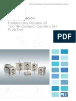 WEG Fusibles Ultra Rapidos Tipo Nh Ar 50030486 Catalogo Espanol