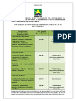 Tabela Honorarios Febrapils 2015