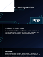 Tips Para Crear Páginas Web