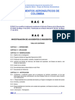 RAC  8 - Investigación de  Accidentes e Incidentes de Aviación.pdf