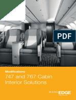 747 767 Cabin Interior