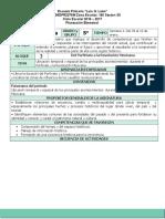 Plan 5to Grado - Bloque 3 Historia (2016-2017)