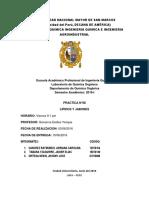 Informe 8 Lipidos y Jabones