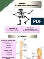 PPT REFERAT OSTEOMIELITIS