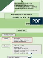 Aval Activos Indust Ucat - Sesion 03 - 02 a (Depreciacion)