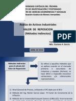 Aval Activos Indust Ucat - Sesion 02 - 04 (Valor de Reposicion - Metodos Indirectos)