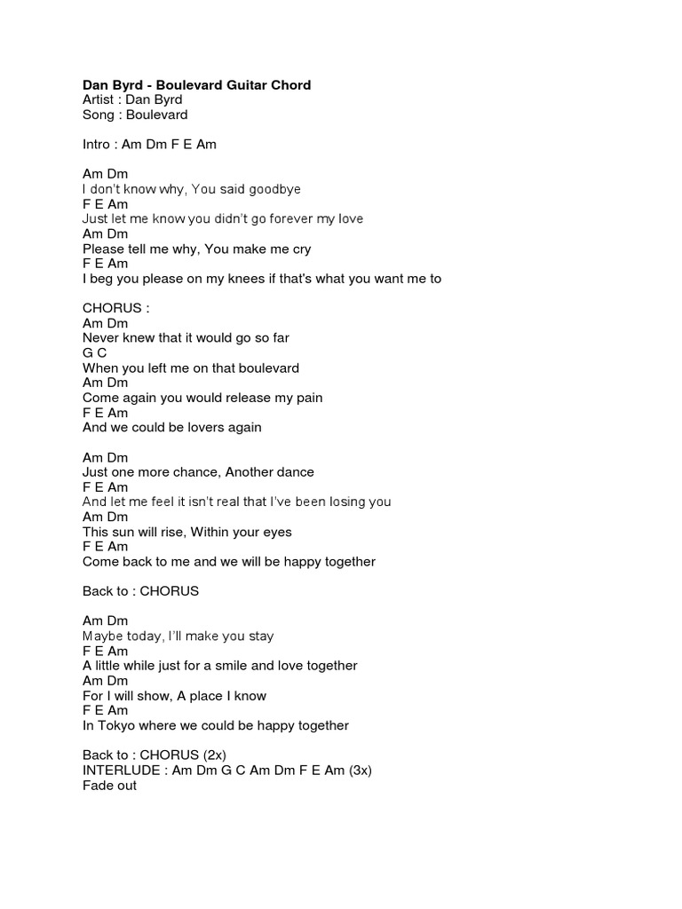 When You Tell Me That You Love Me Lyrics Guitar Chords Idea Gallery