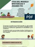 Lineamientos Del Modelo de Competencias y Estándares Tic