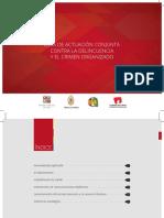 Guía de Actuación Conjunta Contra La Delincuencia y El Crimen Organizado. PNP - MP- PJ