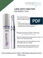 Needling With Nectar Cosmetique Aesthetics