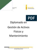 Diplomado en Gestión Activos Fisicos y Matenimiento 2016