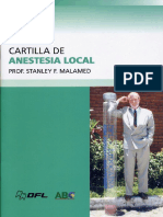 Cartilla de Anestecia Local Prof. Stanley F. Malamed