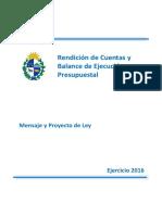 Proyecto de Rendición de Cuentas
