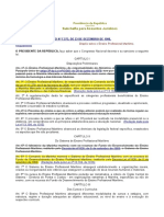 Lei 7.573, De 23 de Dezembro de 1986 - Ensino Profissional Marítimo