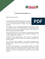 Comunicado Centro Andino - 200617