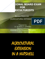 1 Agricultural Extension