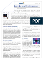 MSN Health Laser Eye Surgery Article