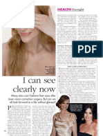 HELLO! Magazine Laser Eye Surgery Article
