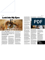 Caché Magazine Laser Eye Surgery Article