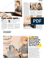 SportDiver Laser Eye Surgery Article
