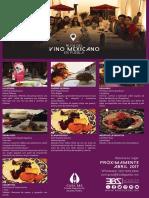 Mailing Ruta del Vino Mexicano Puebla 2017