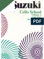 Suzuki Violoncello Vol 2