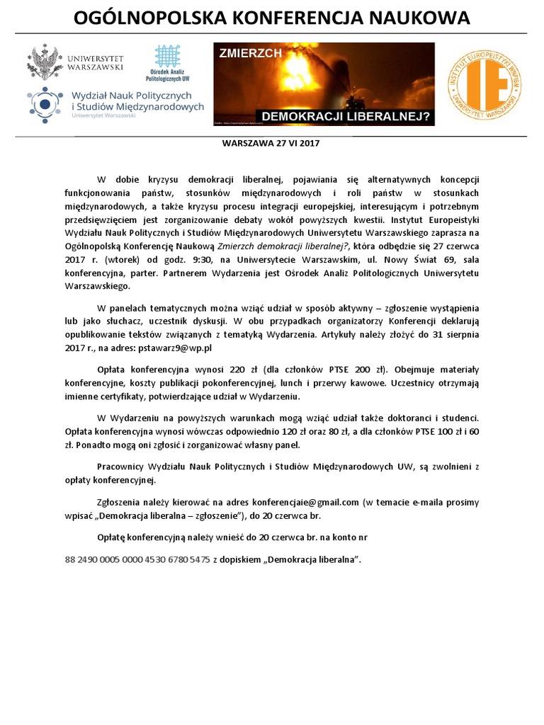 Zaproszenie Konferencja 270617