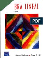 Algebra Lineal B Kolman