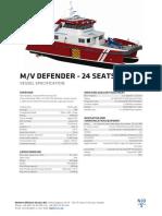 MV Defender