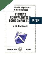 Figuras Equivalentes y Equicompuestas - Boltianski