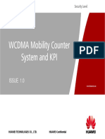 02 WCDMA Radio Network Mobility Counter and KPI