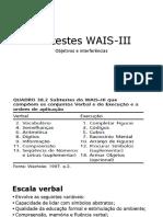 Subtestes WAIS III