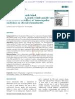 Homeopathy Rhinosinusitis RCT