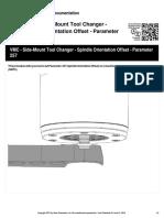 Vmc Side Mount Tool Changer Spindle Orientation Offset Parameter 257