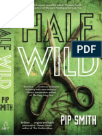 Half Wild by Pip Smith Sample Chapter