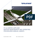 Pilatus Aircraft Ltd PC 12 MMOP