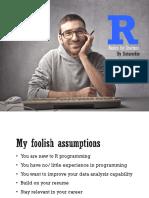 R Basics for Starters [DataRockie]