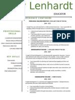 mary-resume - 2ndpage