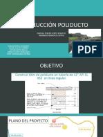 CONSTRUCCIÓN POLIDUCTO
